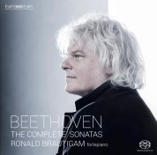Ronald Brautigam: Beethoven: Complete Works for Solo Piano on forte-piano - SACD