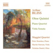 Bliss: Oboe Quintet / Piano Quartet / Viola Sonata - CD