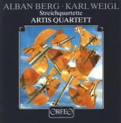 Artis Quartett: Berg, Weigl: Streichquartett - Plak