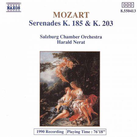 Mozart: Serenades K. 185 and K. 203 - CD