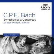 Karl Richter, Reinhard Goebel, Trevor Pinnock: C.P.E. Bach: Symphonies - CD