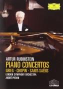 Artur Rubinstein, André Previn, London Symphony Orchestra: Artur Rubinstein - Piano Concertos - DVD