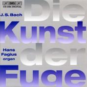 Hans Fagius: J.S. Bach: Die Kunst der Fuge on organ - CD