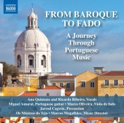 Os Musicos do Tejo, Marcos Magalhaes: From Baroque to Fado - CD
