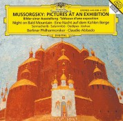 Berliner Philharmoniker, Claudio Abbado, Elena Zaremba, Prague Philharmonic Chorus: Mussorgsky: Pictures At An Exhibition - CD