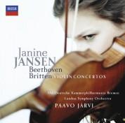 Janine Jansen, Die Deutsche Kammerphilharmonie Bremen, Paavo Järvi, London Symphony Orchestra: Beethoven/ Britten: Violin Concertos - CD