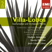 Villa-Lobos: Instrumental and Orchestral Works - CD