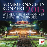 Wiener Philharmoniker, Zubin Mehta, Rudolf Buchbinder: Summer Night Concert, 2015 - CD