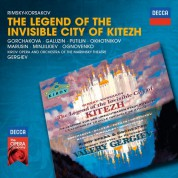 Rimsky-Korsakov: The Legend Of The invisible City Of Kitezh - CD