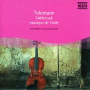 Anne Schuman: Telemann: Musique De Table Parts I, Ii and Iii (Selections) - CD