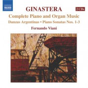 Fernando Viani: Ginastera: Complete Piano and Organ Music - CD