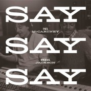 Paul McCartney: Say Say Say - Plak