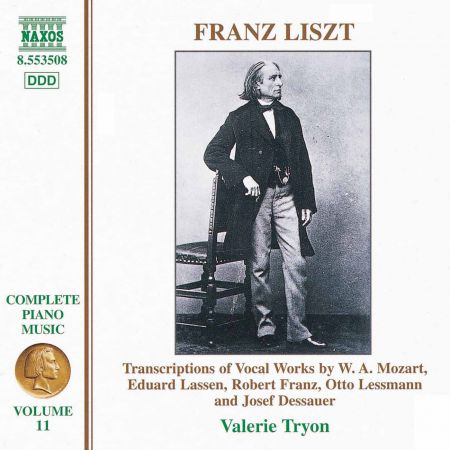 Valerie Tryon: Liszt: Transcriptions of Vocal Works by Mozart, Lassen, Franz - CD