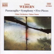 Webern: Passacaglia / Symphony / Five Pieces - CD