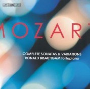 Ronald Brautigam: Mozart: Complete Sonatas and Variations - CD