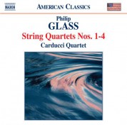 Carducci String Quartet: Glass: String Quartets Nos. 1-4 - CD