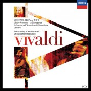 Christopher Hogwood, The Academy of Ancient Music: Vivaldi: L'estro Armonico, Op.3 - CD