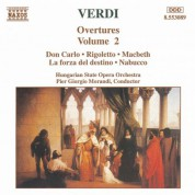 Verdi: Overtures, Vol.  2 - CD