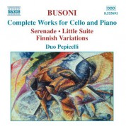 Duo Pepicelli: Busoni: Complete Works for Cello and Piano - CD