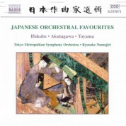 Japanese Orchestral Favourites - CD