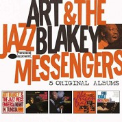 Art Blakey & The Jazz Messengers: 5 Original Albums - CD