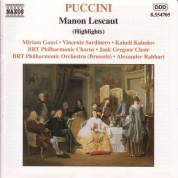 Puccini: Manon Lescaut (Highlights) - CD