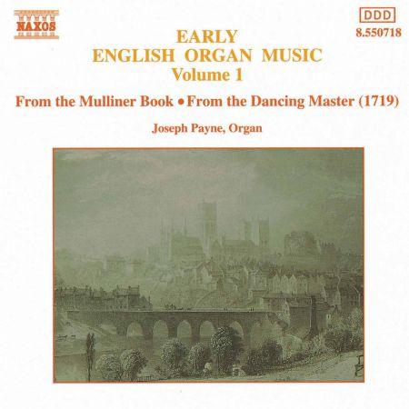 Early English Organ Music, Vol.  1 - CD