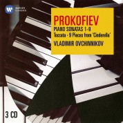 Vladimir Ovchinnikov: Prokofiev: Piano Sonatas No. 1 - 9, Toccata, 9 Pieces Form The Ballet (Cinderella) - CD