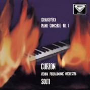 Sir Clifford Curzon, Wiener Philharmoniker, Sir Georg Solti: Tchaikovsky:  Piano Concerto No. 1 - Plak