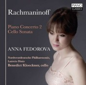 Anna Fedorova: Rachmaninow:Piano Concerto 2 - CD