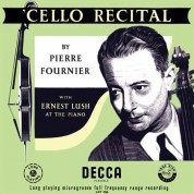 Pierre Fournier: Cello Recital - Plak