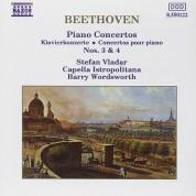 Stefan Vladar, Capella Istropolitana, Barry Wordsworth: Beethoven: Piano Concertos 3, 4 - CD