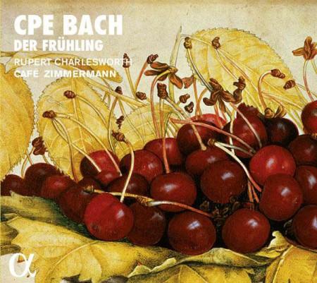Cafe Zimmermann, Rupert Charlesworth: C.P.E. Bach: Der Frühling - CD
