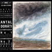Royal Stockholm Philharmonic Orchestra, Antal Doráti: Doráti: Symphonies No.1 and No.2 - CD