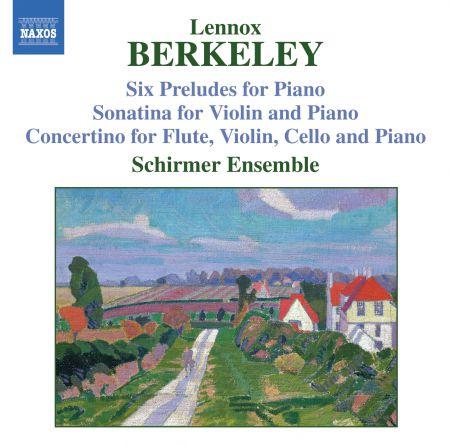 Berkeley: Sonatina for Violin and Piano, Op. 17 / Six Preludes, Op. 23 / Concertino, Op. 49 - CD