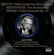 Jascha Heifetz: Bruch: Violin Concertos Nos. 1 & 2 - Beethoven: Romances Nos. 1 & 2 - CD