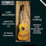 Jakob Lindberg, Drottningholms Barock Orchestra: Boccherini - Guitar Quintets - CD