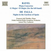 Ravel: Piano Concertos / Falla: Nights in Gardens of Spain - CD