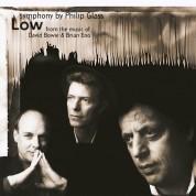 "Brooklyn Philharmonic Orchestra, Dennis Russell Davies: Glass: Symphonie Nr.1 ""Low Symphony"" - Plak"