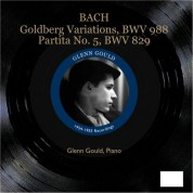Glenn Gould: Bach: Goldberg Variations & Partita No. 5 - CD