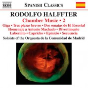 Manuel Coves: Halffter: Chamber Music, Vol. 2 - CD