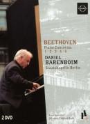 Staatskapelle Berlin, Daniel Barenboim: Beethoven: Piano Concertos 1-6 - DVD