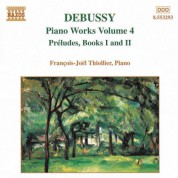 Debussy: Piano Music, Vol. 4 - Preludes, Books 1 and 2 - CD