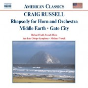 Russell: Rhapsody for Horn and Orchestra / Middle Earth - CD