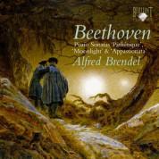 Alfred Brendel: Beethoven: Piano Sonatas 'Pathétique', 'Moonlight' & 'Appasionata' - CD