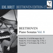 İdil Biret: Beethoven: Piano Sonatas, Vol. 8 - CD