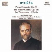 Dvorak: Piano Concerto, Op. 33 / The Water Goblin - CD