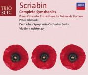 Deutsches Symphonie-Orchester Berlin, Peter Jablonski, Radio Symphonie Orchester Berlin, Vladimir Ashkenazy: Scriabin: Symphonies 1-3 - CD