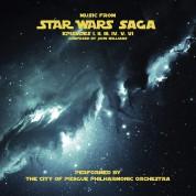 The City of Prag Philarmonic Orchestra: Music From Star Wars Saga - Plak