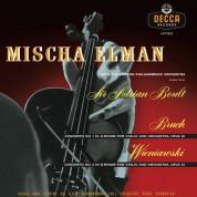 Mischa Elman: Bruch, Wieniawski: Violin Concertos - Plak